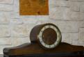 Старинные механические каминные часы Hermle