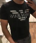Футболка Armani jeans, толстовки мужские с капюшоном levis