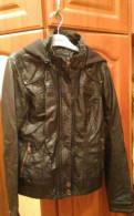 Кожаная куртка женская, одежда для невысоких полных