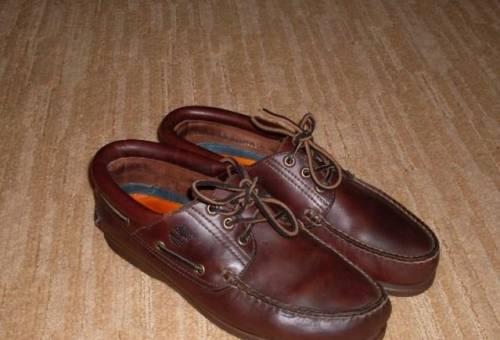 Мокасины-топсайдеры Timberland, беговые кроссовки reebok мужские