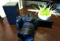 Фотокамера Panasonic Lumix G-6 и ширик Lumix 7-14
