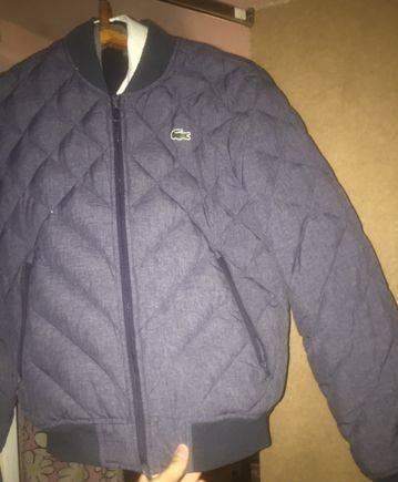 Куртка бомбер Lacoste оригинал новая коллекция, футболка камуфляж пиксель