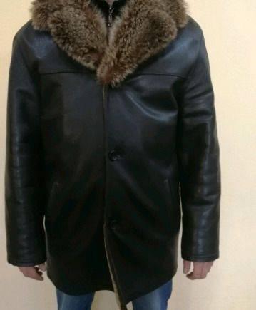Дубленка, мужское белье страус