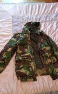 Костюм зимний новый камуфлированный зелёной расцве, штаны с резинкой внизу мужские купить