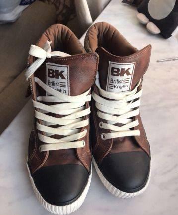 Мужские резиновые ботинки keddo, кеды British knights