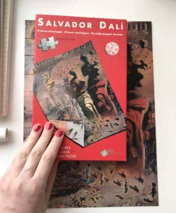 Пазл двусторонний Сальвадор Дали Salvador Dali
