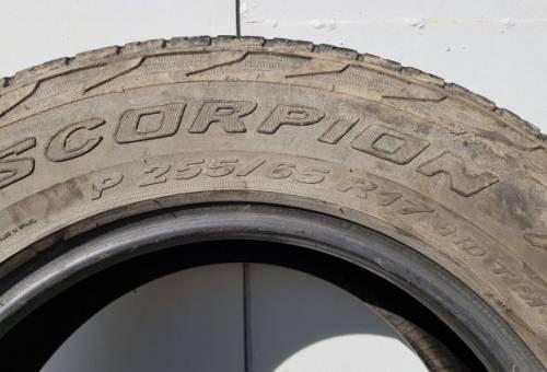 Митсубиси аутлендер 2017 шины, шины pirelli scorpion