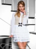 Новое платье, женские штаны на подтяжках, Каменногорск