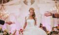 Свадебное платье + болеро + нижняя юбка + манто, белое вечернее платье в пол купить