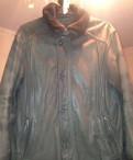 Куртка кожаная Пьер Карден с меховым отстегивающем, мужские джинсы fashion point, Мурино