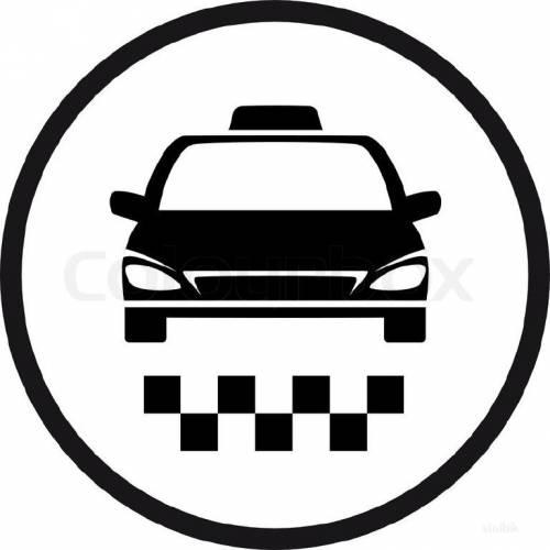 Водитель такси на своём автомобиле