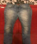 Новые модные джинсы, мужские майки черные