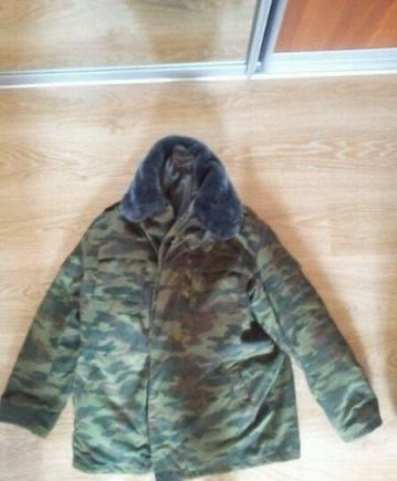 Куртка мужская осенняя классическая, бушлат с ватниками
