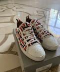 Спортивная обувь для мужчин зима адидас, кеды Thom Browne (оригинал), Красный Бор