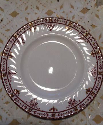 Фарфоровые тарелки лфз
