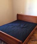 Кровать двуспальная с матрасом, Санкт-Петербург