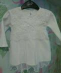 Платье нарядное белое для девочки