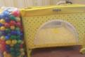 Манеж Babyton + шары, Мурино