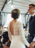 Одежда для высоких и стройных, свадебное платье 44-46 р. Спб (не агентство)