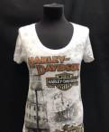 Купить пуховик женский большого размера в недорого в магазине, футболка Harley Davidson