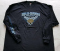 Harley Davidson Футболка с длинным рукавом, куртки мужские осень зима спортмастер, Колпино