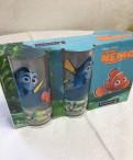 Стаканы Luminarc новые 3 шт детские рыбка Немо