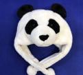Шапка панда из Сингапурского зоопарка