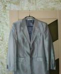 Мужское пальто из неопрена, костюм
