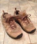 Ботинки NorthFace бу кожа, туфли на танкетке терволина