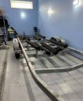Прицеп мзса 822151, 2-ух осный для катера весом до, багажник для лада калина универсал на рейлинги, Павлово