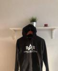 Толстовка Alpha Industries, купить горнолыжную куртку мужскую в интернет магазине