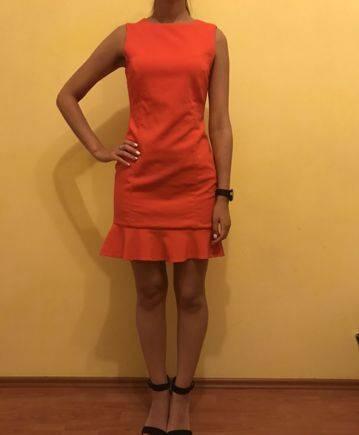 Платье Zara, купить вечернее платье в россии