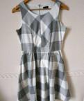 Платье Reserved, юбка солнце на резинке без швов, Металлострой