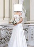 Свадебное платье корсет Papilio, платье стеганый трикотаж белое