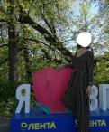 Платье в пол с разрезом от бедра на выпускной, стильный комбинезон, Санкт-Петербург