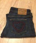 Вязаное платье с подкладкой, джинсы Armani Jeans