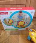 Ходунки-каталка львенок Fisher price