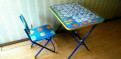 Детский стол и стул, Кириши