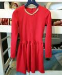 Красное платье, платья из шифона с длинными рукавами, Санкт-Петербург