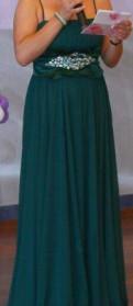 Длинное платье в пол с длинными рукавами, вечернее платье