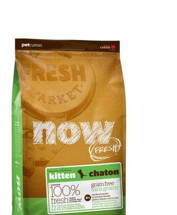 NOW Natural holistic для котят инд/утка/овощи