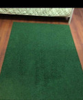 Палас икея 133-195 зелёный