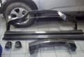 Nissan GTR карбоновые накладки бамперов, накладка на дверь багажника ford focus 2 рестайлинг хром, Новое Девяткино