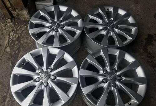 Оригинальные диски R17 Audi 5x112, литые диски на киа соренто 2013