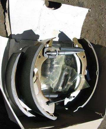 Колодки задние транзит форд, тормозные диски ate camry v40