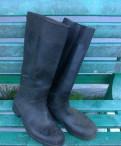 Сапоги резиновые р.45, ботинки мужские натуральная кожа