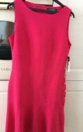 Красное платье в пол из гипюра, платье Ralph Lauren, 46р