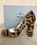 Сапоги женские зимние теплые, туфли Prada, были куплены в Италии, надеты пару ра