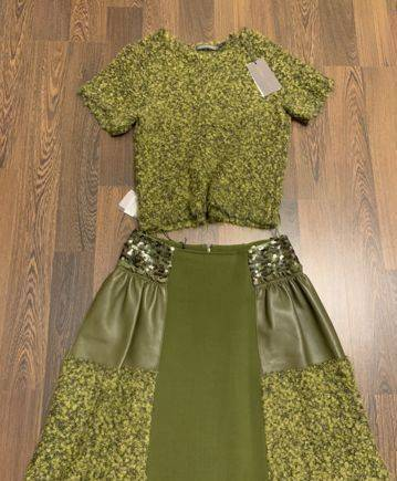 Модные платья из тонкой шерсти, костюм Alberta Ferretti оригинал