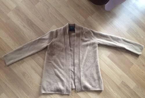 Бежевый кардиган Zara knit, летние платья сарафаны